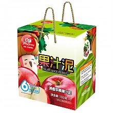 方广婴儿辅食 苹果果汁泥礼盒103*6