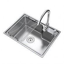 华帝 厨房水槽单槽套装