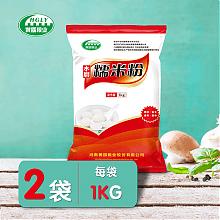 黄国粮业水磨糯米粉 1Kg*2包