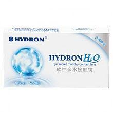 海昌 H2O隐形眼镜月抛 6片装 润眼液 伴侣盒