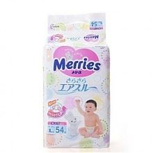 花王 Merries 婴儿纸尿裤 L54片*3包