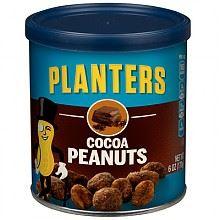 Planters绅士 可可味花生170g