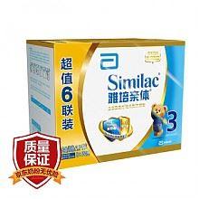 雅培 金装幼儿配方奶粉3段450克 *6盒