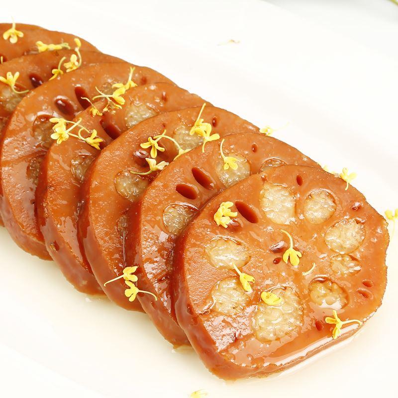 邮缘桂花蜜汁莲藕1500g