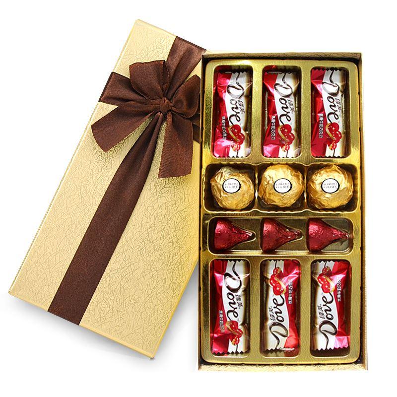 费列罗+德芙巧克力礼盒装