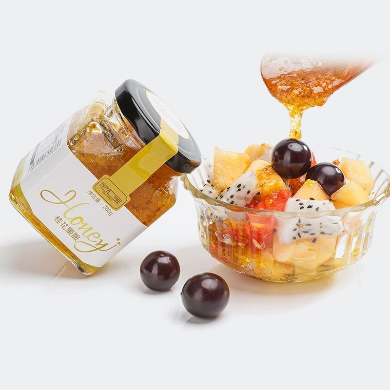 花汇宝天然桂花蜂蜜250g