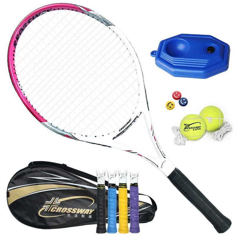 克洛斯威正品碳素网球拍套装