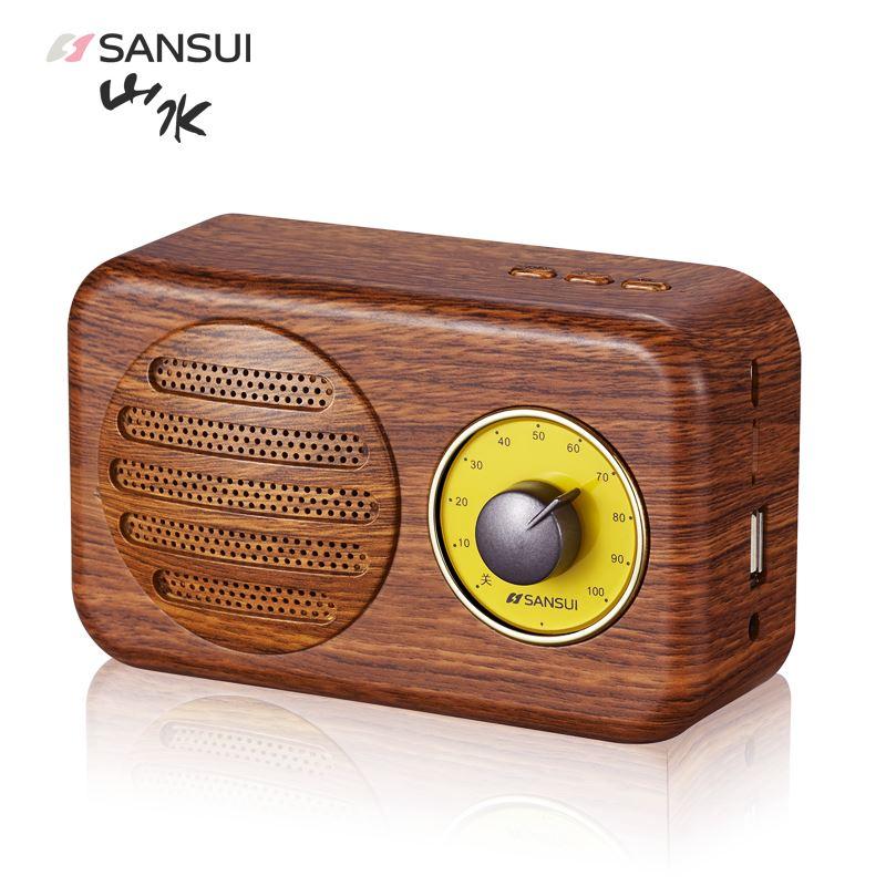 山水T1无线蓝牙音箱收音机