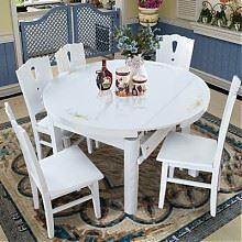 木巴钢化玻璃折叠桌